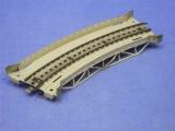 Märklin 7167 Rampenstück gebogen Brücke Spur H0 M-Gleis