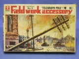 Bandai 8233 Modellbausatz Field Work Accessory No 5 Telegraph pole 1:48 in OVP