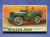 Schreiber Crown 106/287 Modellbausatz Willys Jeep Geländewagen WW II 1:35 OVP