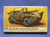 Schreiber Crown 106/288 Modellbausatz VW Schwimmwagen Schwimmkübel WW II 1:35 in OVP