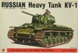 Bandai 8371 Bausatz No 302 KV-1 schwerer Panzer Kliment Woroschilow KW-1 1:48